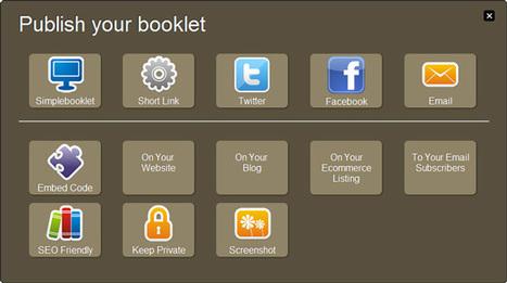 SimpleBooklet. Créez des flipbooks en ligne. | Time to Learn | Scoop.it