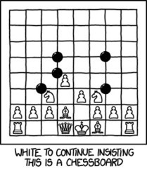 White to continue insisting this is a chessboard | Go Board Game | Scoop.it