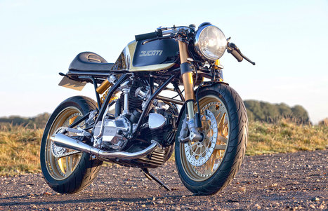 A Custom 1980 Ducati Darmah | Gessato Blog | Ductalk Ducati News | Scoop.it