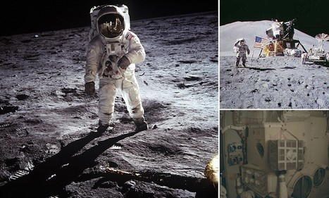 One small click for a man: NASA releases more than 17,000 photos from the Apollo program | Mind Goal Success | Scoop.it