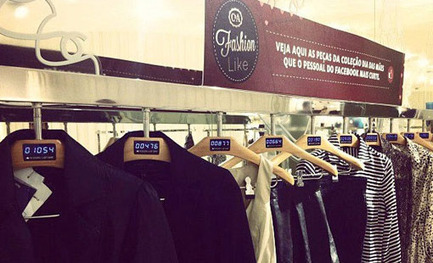 C&A utilise les likes Facebook... sur les cintres de ses vêtements | Facebook pour les entreprises | Scoop.it