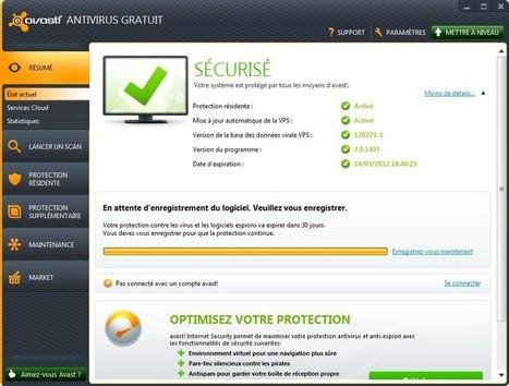 Avast Antivirus 7 disponible : réputation, cloud et assistance à distance   Seniors   Scoop.it