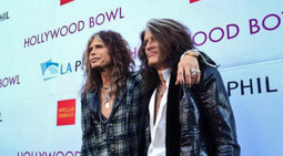 Aerosmith's Steven Tyler and Joe Perry Receive Hollywood Bowl Honor - KTLA | CLOVER ENTERPRISES ''THE ENTERTAINMENT OF CHOICE'' | Scoop.it