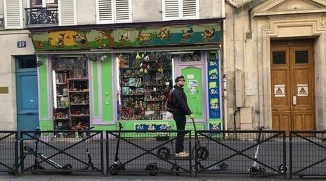 Développées à Strasbourg, des trottinettes partagées arrivent en mars en région parisienne | Voyages et Tourisme | Scoop.it