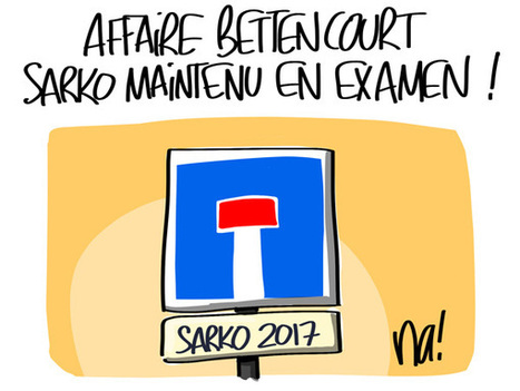 Affaire Bettencourt, Nicolas Sarkozy maintenu en examen | Baie d'humour | Scoop.it