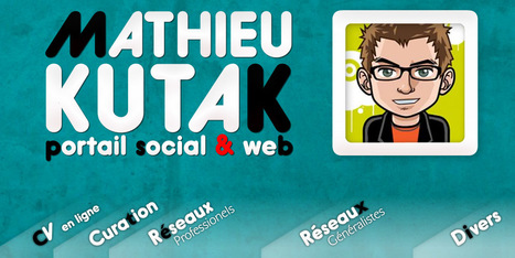 Mathieu Kutak : Portail Social et Web | Gotta see it | Scoop.it