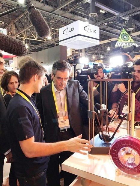 CES 2017 : DAGOMA dévoile sa nouvelle génération d'imprimantes 3D ! | FabLab - DIY - 3D printing- Maker | Scoop.it
