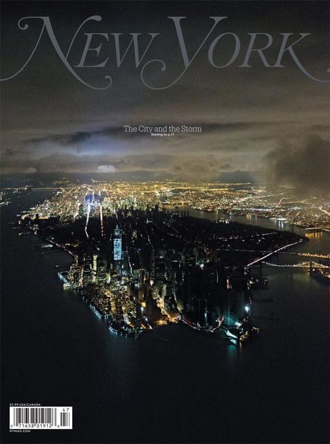 How the iconic post-Sandy 'New York' cover photo was shot   Scene   Scoop.it