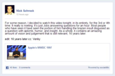 Facebook: Il est possible d'éditer une publication | Social Media Curation par Mon Habitat Web | Scoop.it