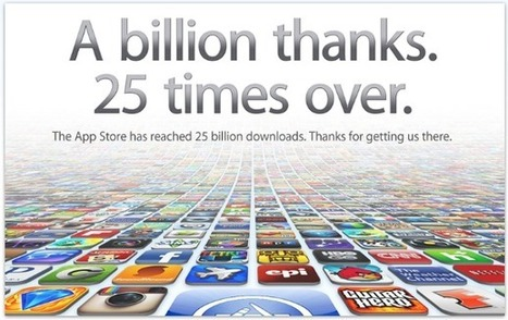 Apple's App Store Hits 25 Billion Downloads | Everything from Social Media to F1 to Photography to Anything Interesting | Scoop.it