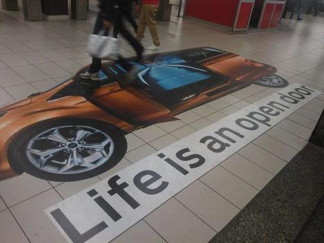 Ambient Marketing: Ford apre le porte...della stazione metropolitana! | Social media culture | Scoop.it