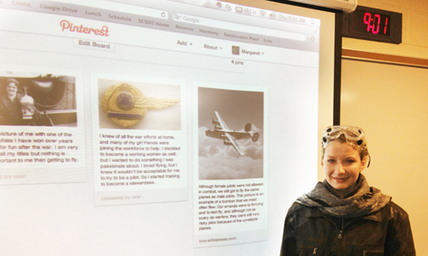 Using Pinterest and Instagram as a Presentation Tool | Learning, education, future | Scoop.it