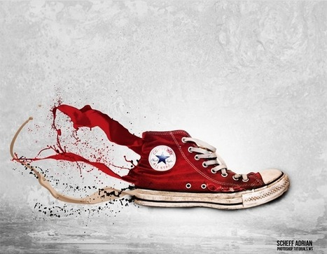 Apply an Awesome Splashing Effect to a Sneaker in Photoshop - Photoshop Roadmap | Photoshop Photo Effects Journal | Scoop.it