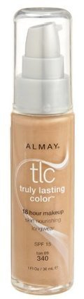Reviews Almay TLC Truly Lasting Color Makeup, Tan 09 340, 1-Ounce Bottle