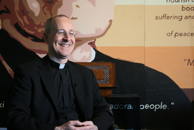 Meeting on the Bridge: Fr. James Martin's Ministry to LGBT Catholics Becomes a Book