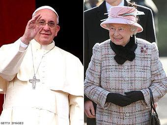 Queen Elizabeth II to Visit Pope Francis in April   Geographyandworldcultures   Scoop.it