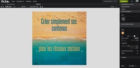 Pixteller : un outil gratuit pour créer des visuels pour les réseaux sociaux - Blog du Modérateur | François MAGNAN  Formateur Consultant | Scoop.it