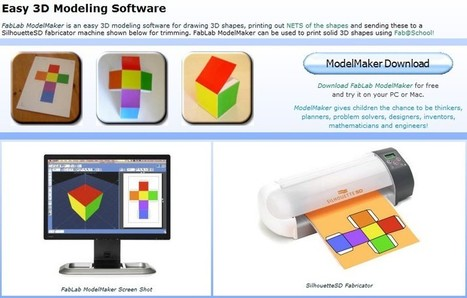 Aspex Educational Software - Download FabLab ModelMaker | 21st Century Tools for Teaching-People and Learners | Scoop.it