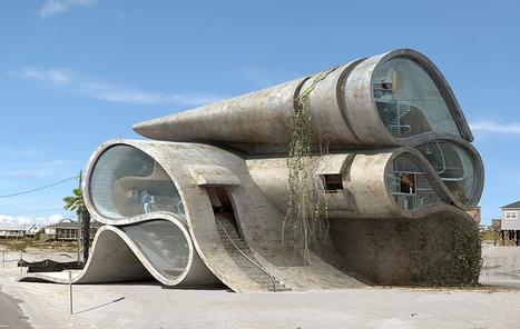 dionisio gonzalez imagines disaster resistant surrealist structures - designboom | architecture & design magazine | Architecture and Design | Scoop.it