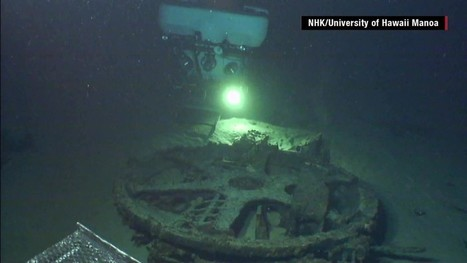 Hangar of Japan's aircraft carrier sub found | DiverSync | Scoop.it