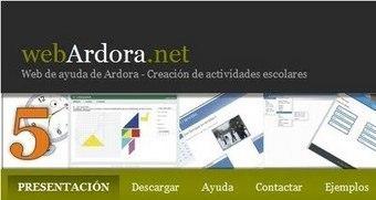 Crea contenidos escolares para la Web con Ardora | RECURSOS PARA EDUCACIÓN Y BIBLIOTECAS | Scoop.it