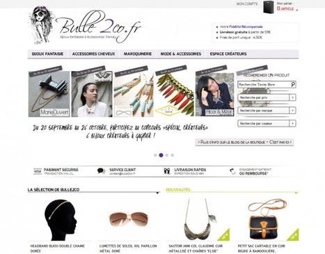 Témoignage de Corinne de la Boutique Bulle2co | WebZine E-Commerce &  E-Marketing - Alexandre Kuhn | Scoop.it
