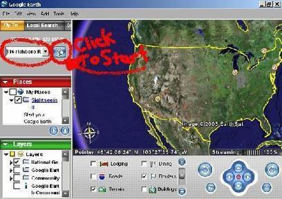 Try Google Earth - Brief tips on how Google Earth works | Google Earth | Scoop.it