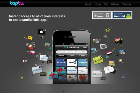 Taptu – instant access to all your interests | Social media kitbag | Scoop.it