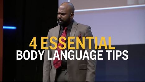 4 essential body language tips from a world champion public speaker | Teaching Business Presentations in a Business Communication Course | Scoop.it