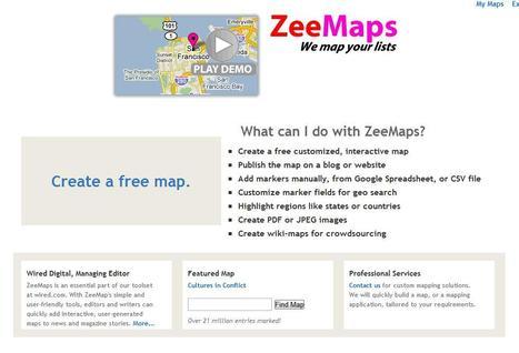 ZeeMaps | Social media kitbag | Scoop.it