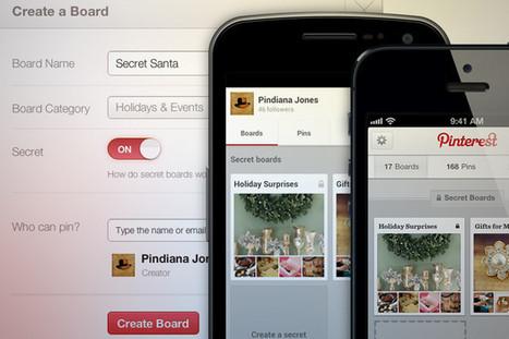 Secret boards now available on Pinterest | Super Social Media | Scoop.it