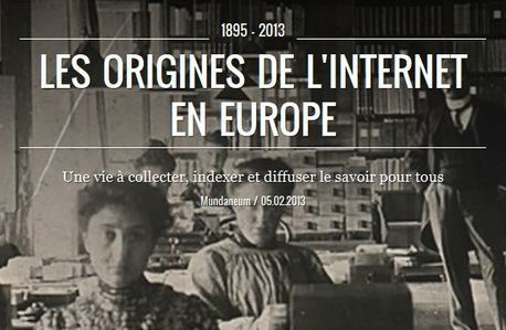 Les origines de l'Internet en Europe : Exposition virtuelle | Library & Information Science | Scoop.it