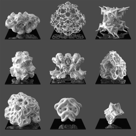 SimpSymm - Complex procedural geometry for 3d printing | generativ art architecture | Scoop.it