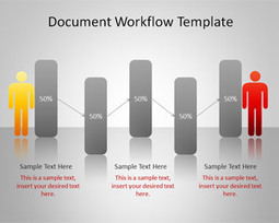 Document workflow powerpoint template free bu document workflow powerpoint template toneelgroepblik Gallery