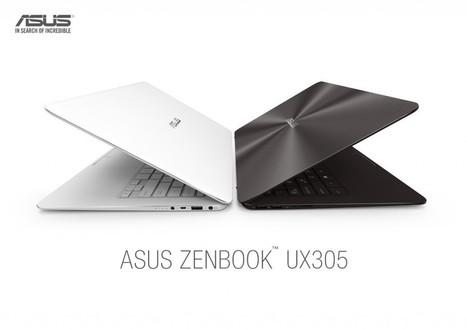Asus Zenbook UX305: Slimmest 13.3-inch Laptop with QHD Display   TechConnectPH News   Scoop.it