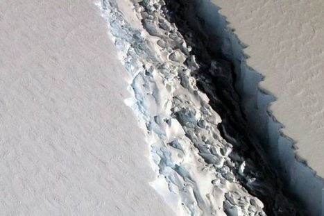 Large Iceberg Looks Poised to Break Off from Antarctica | critical reasoning | Scoop.it