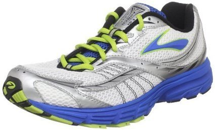 promo code 2cdd2 3119d Brooks Men s Launch Running Shoe,Olympic Silver Lime Green Black White,9 D  US