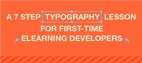 A 7-Step Typography Lesson for First-time eLearning Developers | Concevoir une présentation pour enseigner | Scoop.it