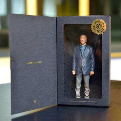 3ders.org - Advertising legend Jacques Séguéla gets 3D printed | 3D Printer News & 3D Printing News | Digital Fabrication, Open Source Hardzware, DIY, DIWO | Scoop.it