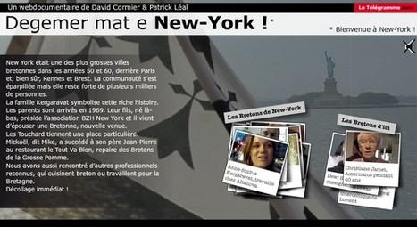 Les Bretons de New York - Le Télégramme.com | L'actualité du webdocumentaire | Scoop.it