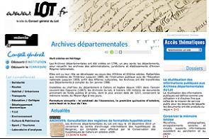 Archives du Lot : la mise en ligne a pris du retard   GenealoNet   Scoop.it