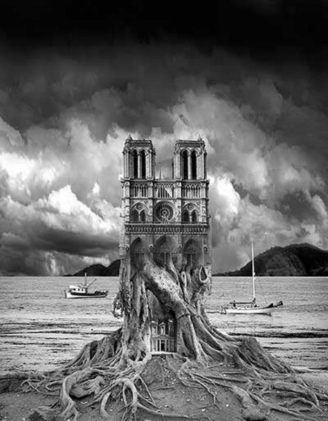 Beautiful Black And White Photo Manipulation For Your Inspiration | Kitaro10 | Everything Photographic | Scoop.it