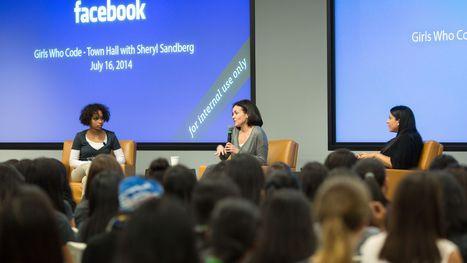Facebook's Sheryl Sandberg on tech's diversity gap | Tech-Girls | Scoop.it