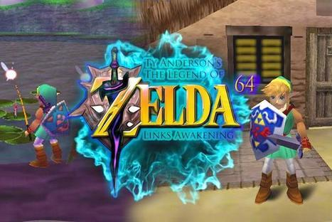 The Legend of Zelda: Link's Awakening Recreated Using Nintendo 64 Ocarina Of Time Engine | [OH]-NEWS | Scoop.it