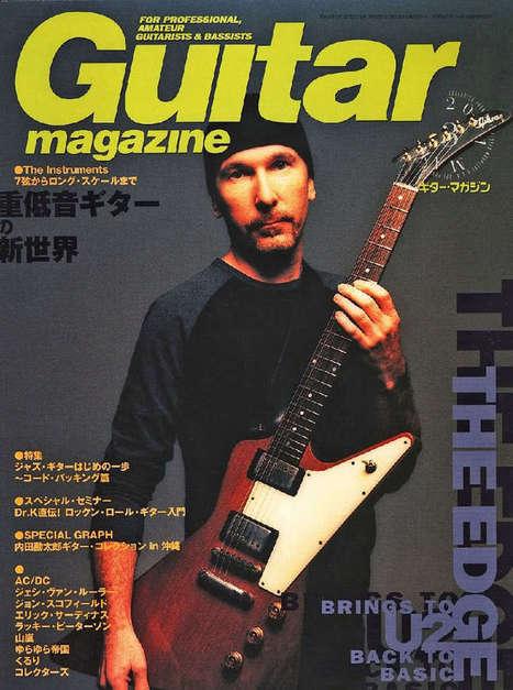 Le son de la guitare de The Edge, empreinte génétique de U2 - U2 France | L'actualité de la guitare | Scoop.it