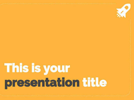Simple Powerpoint Template Or Google Slides The