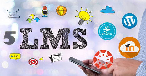 Las 5 mejores plataformas (LMS) de #elearning. | Educación Matemática | Scoop.it