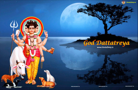 Lord Dattatreya Wallpapers Images P Os Free Download