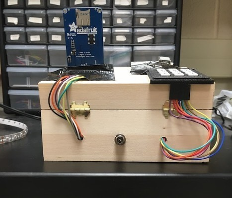 Arduino Blog – A four-factor lockbox | COMPUTATIONAL THINKING and CYBERLEARNING | Scoop.it