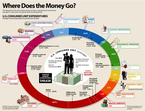 The Most Common Ways You Waste Money (and How to Save It) | Picturing It | Scoop.it